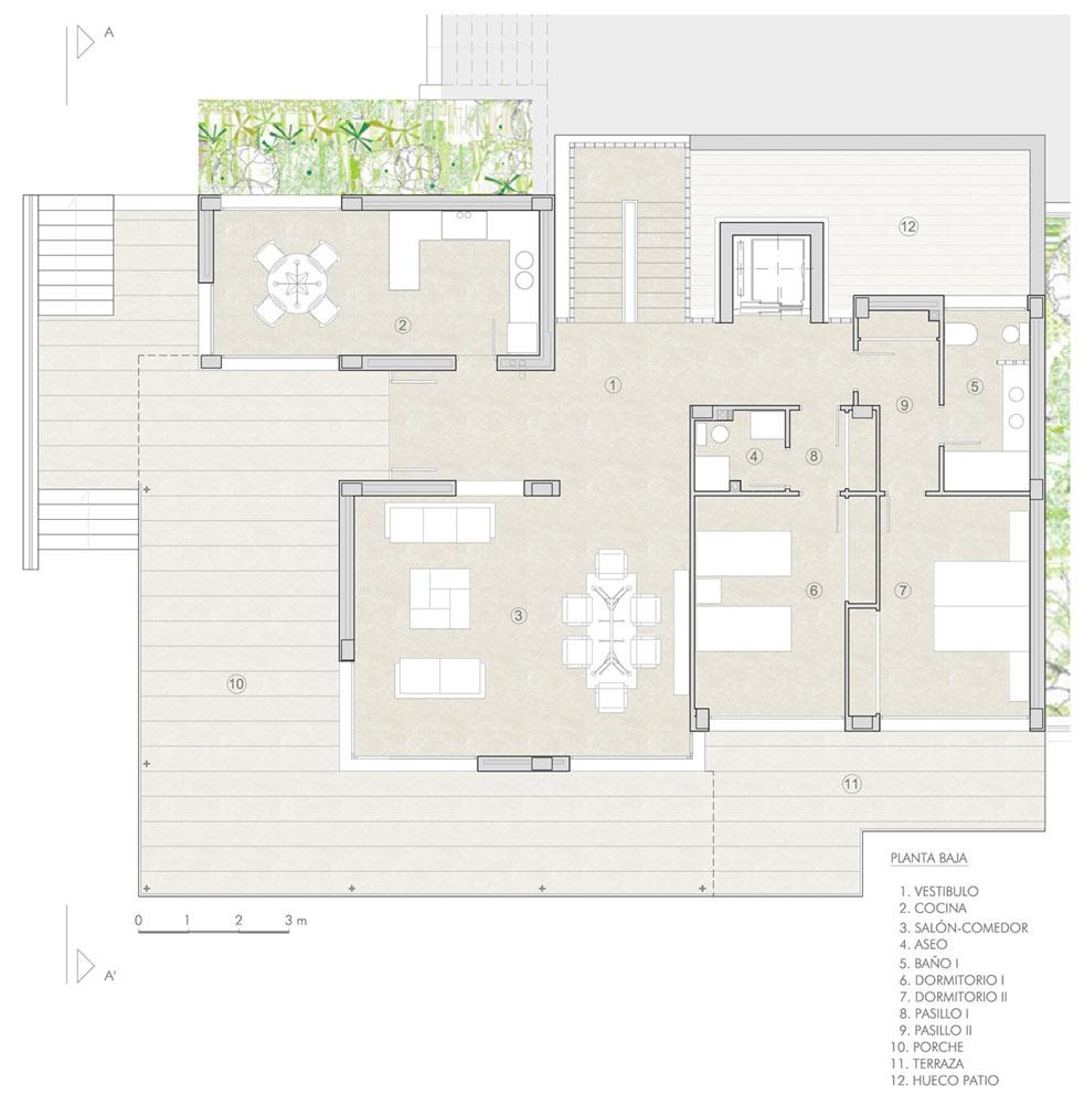 Planos vivienda with planos vivienda free with planos for Viviendas modernas de una planta